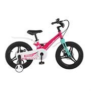 Велосипед MAXISCOO Space Делюкс 16, розовый