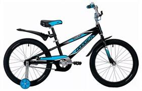 Велосипед NOVATRACK 20 DODGER, черный