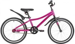 """Велосипед Novatrack Prime 20"""", розовый металлик"""