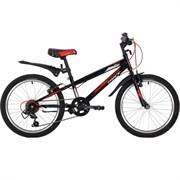 """Велосипед Novatrack Racer 20"""", черный"""