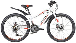 """Велосипед Novatrck Prime 24"""", белый"""