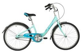 Велосипед Novatrack Ancona 24'', зеленый