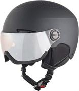 Зимний Шлем Alpina 2021-22 Arber Visor Q-Lite Black Matt