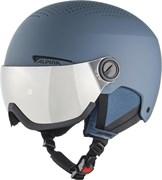 Зимний Шлем Alpina 2021-22 Arber Visor Q-Lite Ink Matt