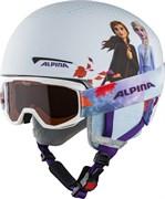 Зимний шлем с маской Alpina 2021-22 Zupo Disney Set Frozen II