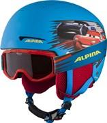 Зимний шлем с маской Alpina 2021-22 Zupo Disney Set Cars
