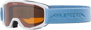 Очки горнолыжные Alpina  Piney White/Sky Blue