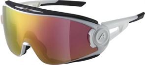 Очки горнолыжные Alpina 2021 5W1NG Q+VM White Matt