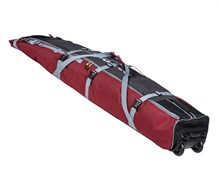 COURSE Чехол на колесах для горных лыж и сноуборда 180см и 215см (Красный)