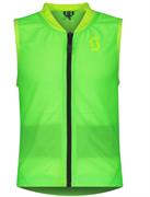 Детская защита спины Scott   AirFlex Jr Vest Protector high viz green