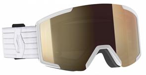 Горнолыжная маска Scott Shield LS White/Light Sensitive Bronze Chrome