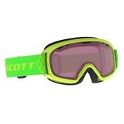 Горнолыжная маска Scott  JUNIOR WITTY high viz green / enhancer