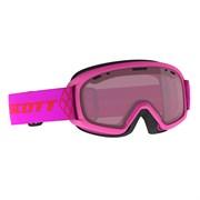 Горнолыжная маска Scott  JUNIOR WITTY high viz pink / enhancer