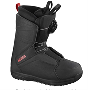 Сноубордические ботинки Salomon FACTION BOA RTL Black/Bk/Red