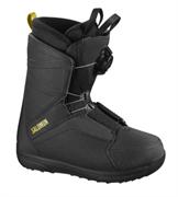 Сноубордические ботинки Salomon FACTION BOA RTL Black/Bk/Ye