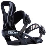 Сноубордические крепления RIDE LX, Black