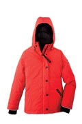 Юниорская куртка Canada Goose Girls Alexandra Parka, Red