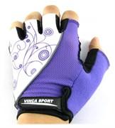 Женские велосипедные перчатки, VG 927 white/violet