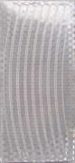 Набор светоотражающих накладок на обод велосипеда, STA 114 silver
