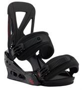 Сноубордические крепления BURTON Custom, Black/Red