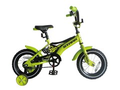 Детский велосипед, StarkTanuki 12 Boy, green