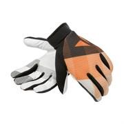 Перчатки велосипедные Dainese Guanto Rock solid, Bianco/Arancio/Nero