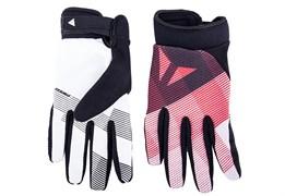 Перчатки велосипедные Dainese Guanto Rock solid, Bianco/Rosso/Nero