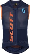 Детская защита спины Scott Vest Protector Jr Actifit black iris/orange