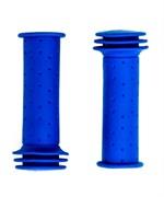 Грипсы детские, резиновые, длина 102мм, Blue
