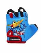 Детские велосипедные перчатки Vinca, plane red