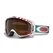 Маска Oakley Crowbar SCRATCH RED/BLACK IRIDIUM