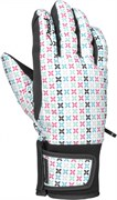Перчатки Reusch Lilli GTX Junior, 167 white/multicolour new