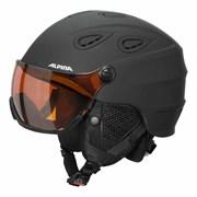 Горнолыжный шлем Alpina GRAP Visor HM, black matt