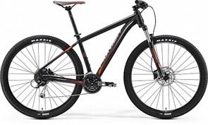 Горный велосипед Merida Big.Nine 100, Matt-Black(Signal-Red/Grey)